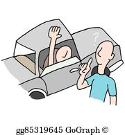 Driving Directions Clip Art.