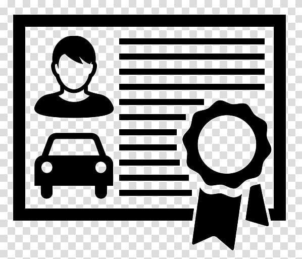 Car Driver\'s license Driving Patent, car transparent.