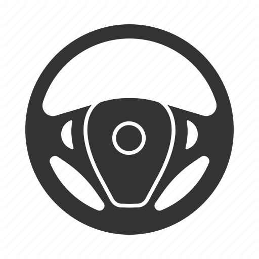 \'Auto workshop. Glyph. Silhouettes\' by bsd studio.