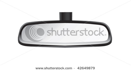 Rearview Mirror For an Automobile.