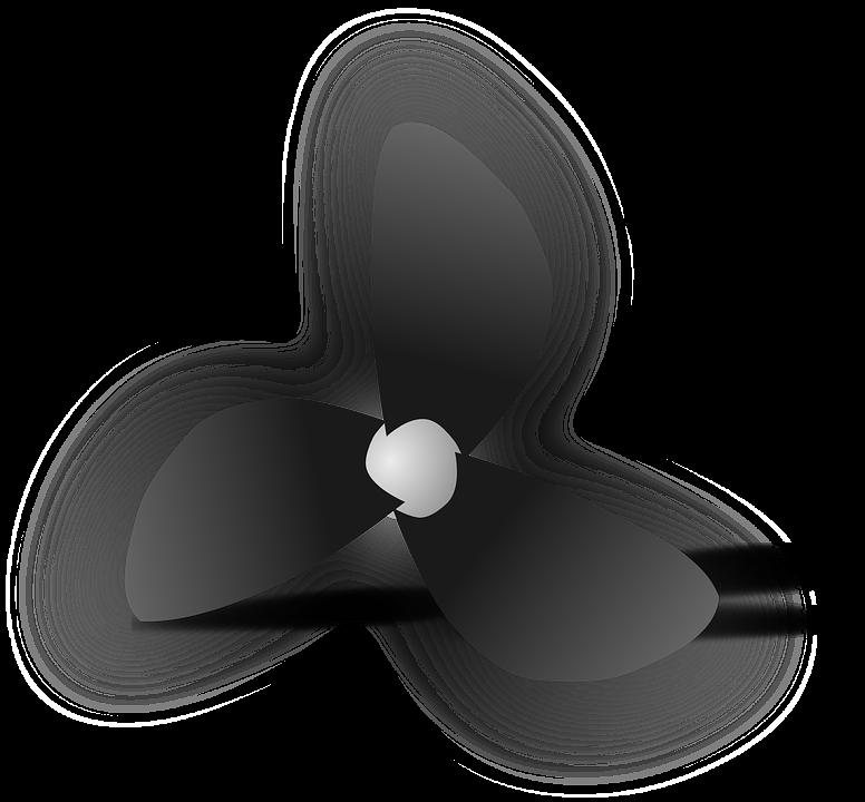 Free vector graphic: Ship'S Propeller, Propeller, Ship.