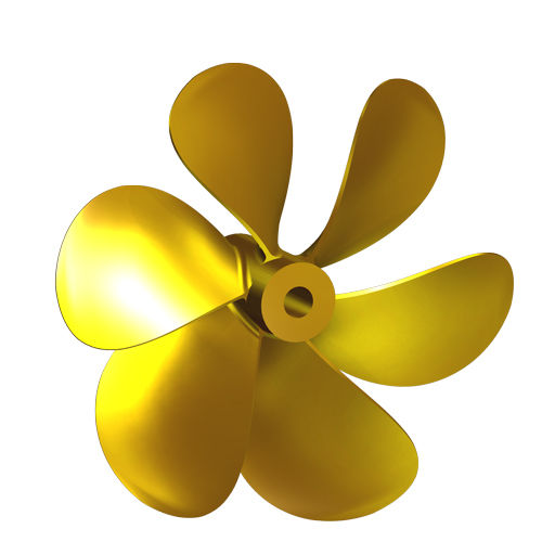 Yacht propeller / for boats / fixed.