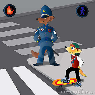 Traffic Rules Cartoon Stock Photos, Images, & Pictures.