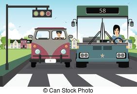 Light pedestrian traffic rules Clip Art Vector and Illustration.