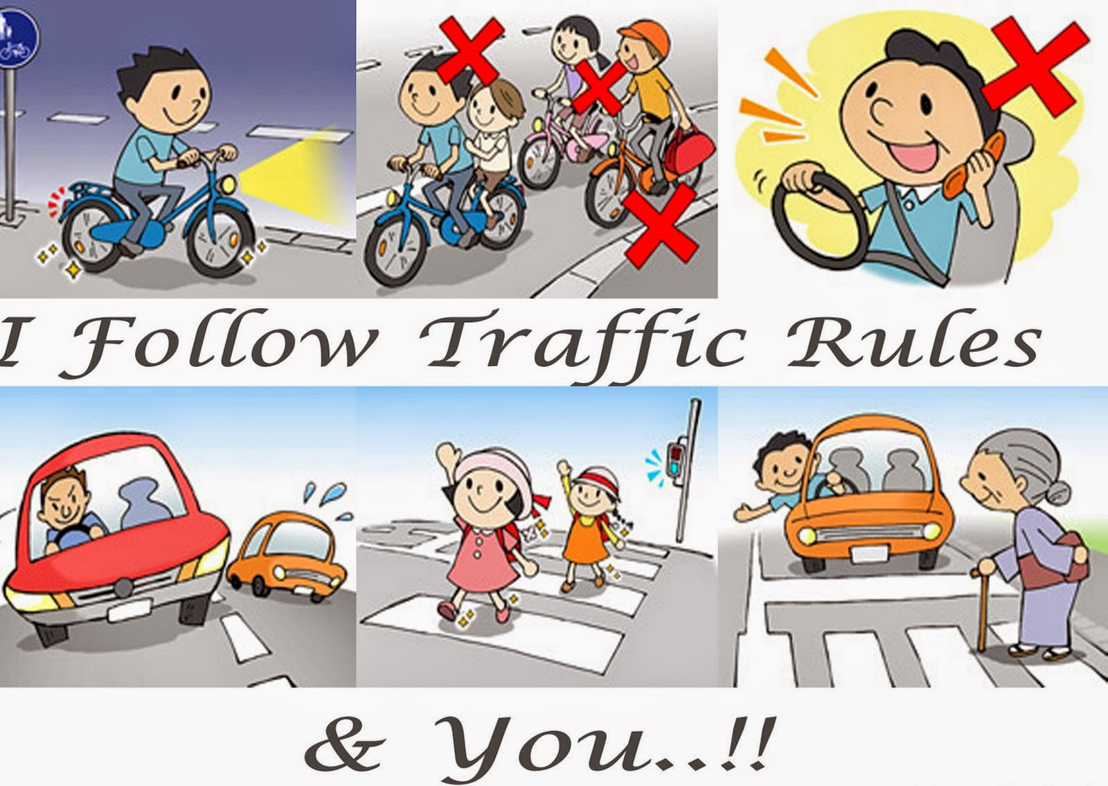 Know The Traffic Rules & Regulations know more: http://delhigovt.