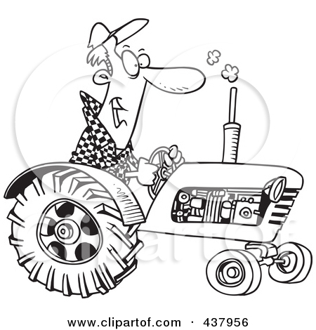 Driving Tractor Clipart Clipground