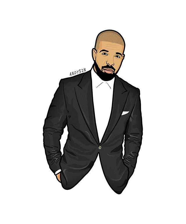 The Best Drake Fan Art.