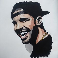 drizzy drake outline clipart #14