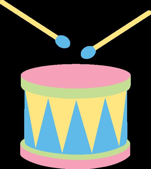 Drum clip art.