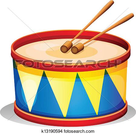 Clipart drum.