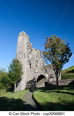 Stock Photography of Mellifont Abbey, Drogheda, County Louth.