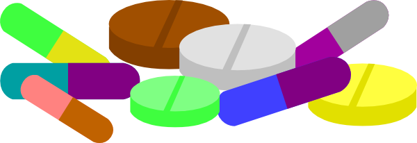 Medication Clipart.