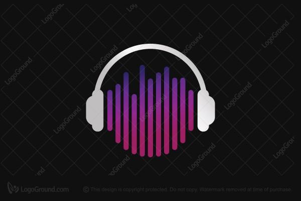 Exclusive Logo 44468, Music Droid Logo.