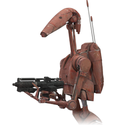 Star Wars Battle Droid 2 Icon, PNG ClipArt Image.