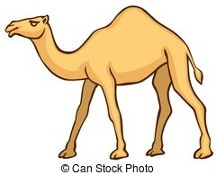 Cartoon Camel Clipart.
