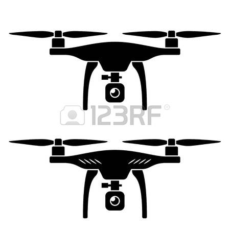 408 Drone free clipart.