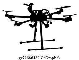 Drone Clip Art.