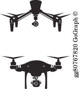 Drones Clip Art.