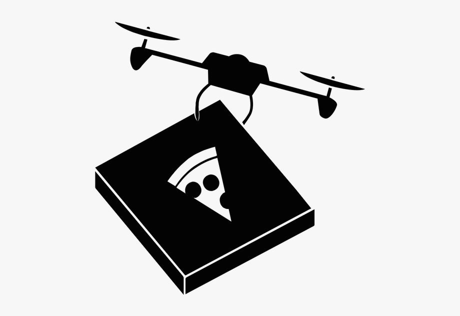 Drone Clip Art Black And White.