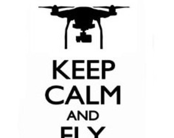 Drone decal.