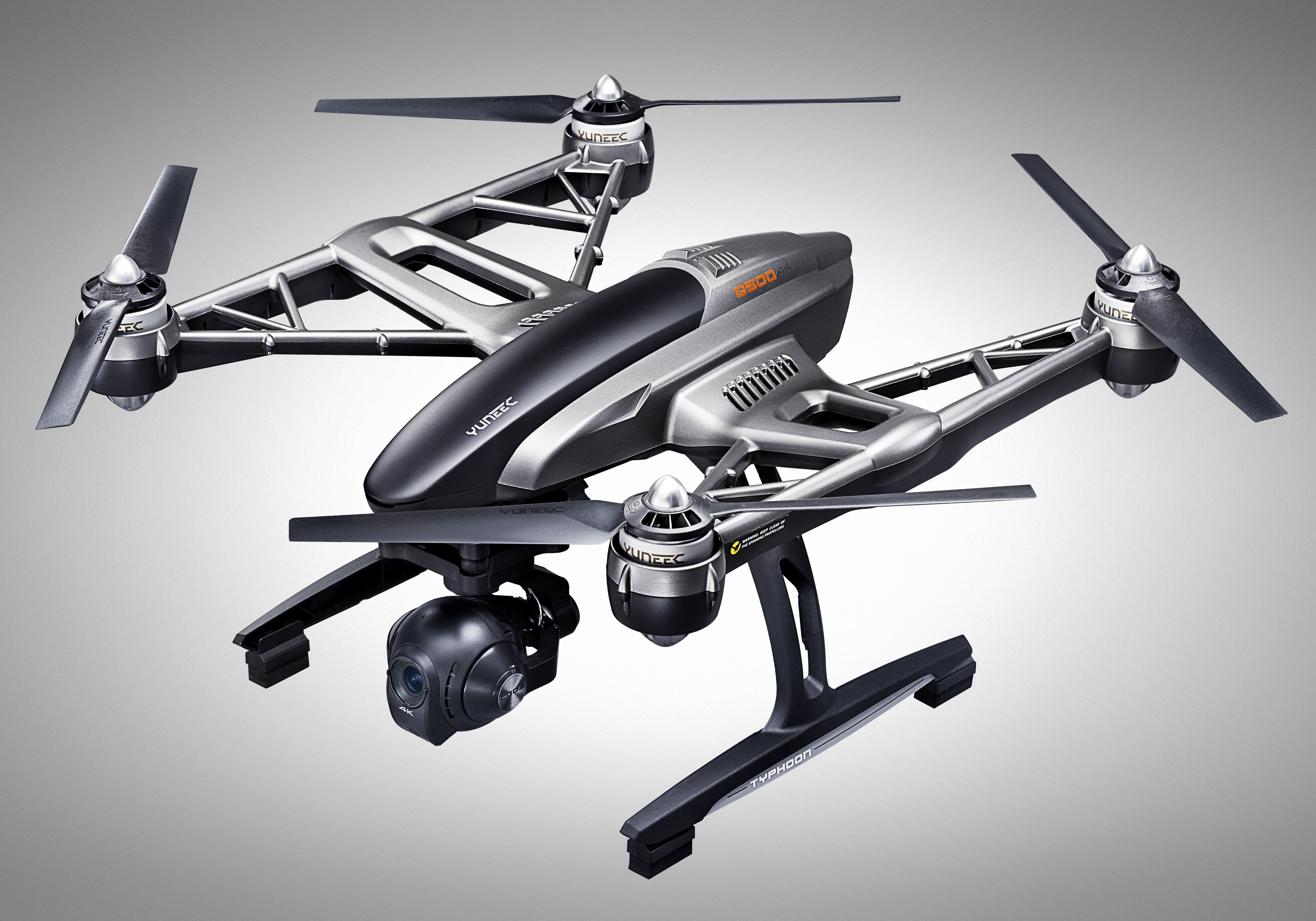 Introducing the Yuneec Typhoon Q500 4K Drone.