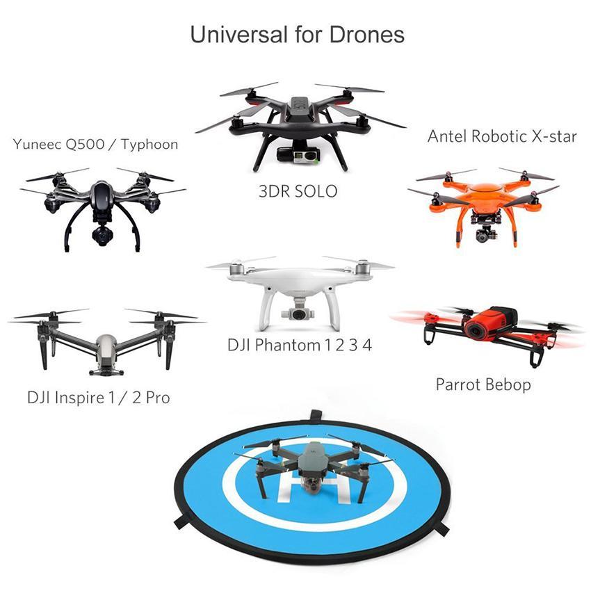 Amazon.com: MCSTREE Quadcopter Drone Landing Pad for Universal DJI.