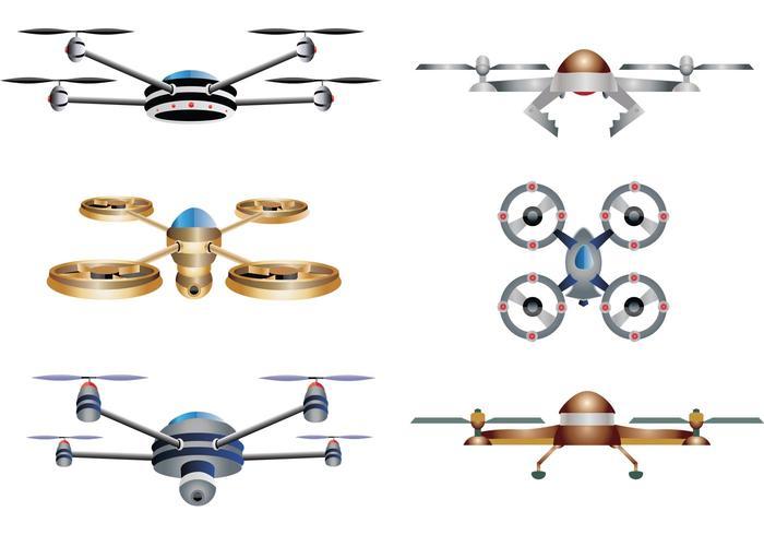 Drone Vectors.
