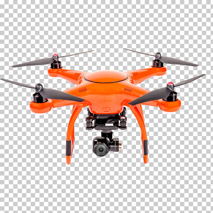 Unmanned aerial vehicle Phantom 4K resolution DJI Gimbal.