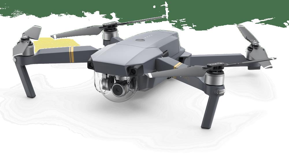 Dji Mavic Pro Drone transparent PNG.