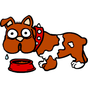 Dog Drooling clipart, cliparts of Dog Drooling free download (wmf.