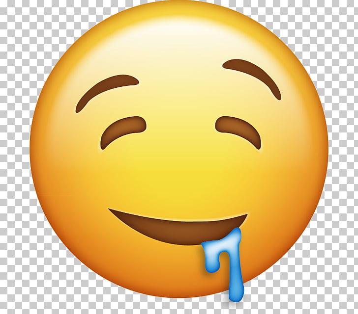 Emoji Computer Icons iPhone , emoji, drooling emoticon PNG.