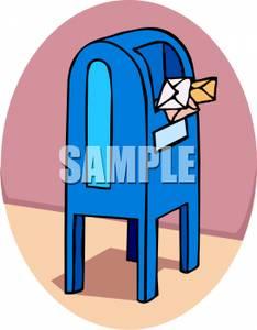 Post Office Drop Box.