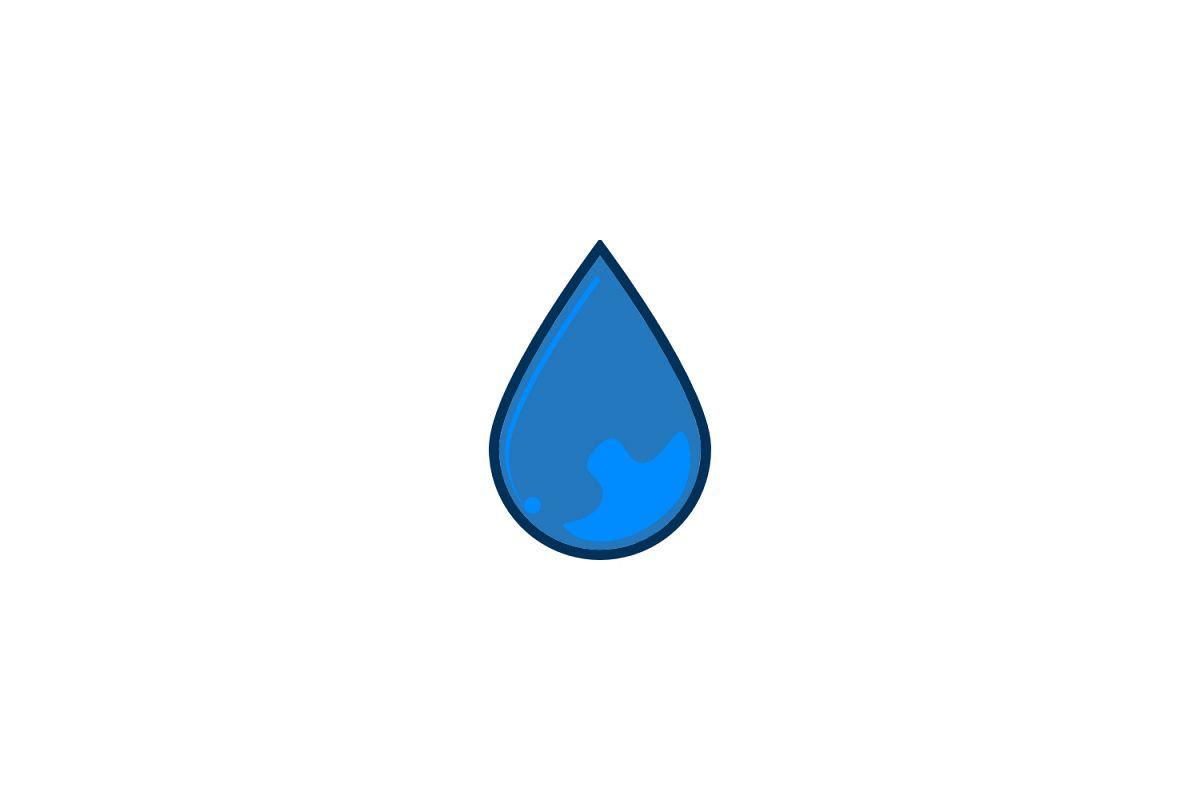 water drop logo.