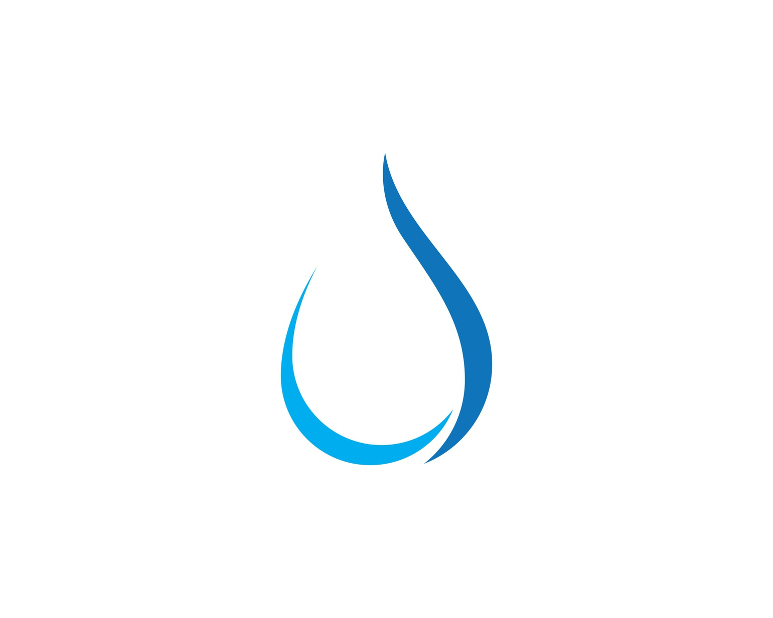 water drop Logo Template.