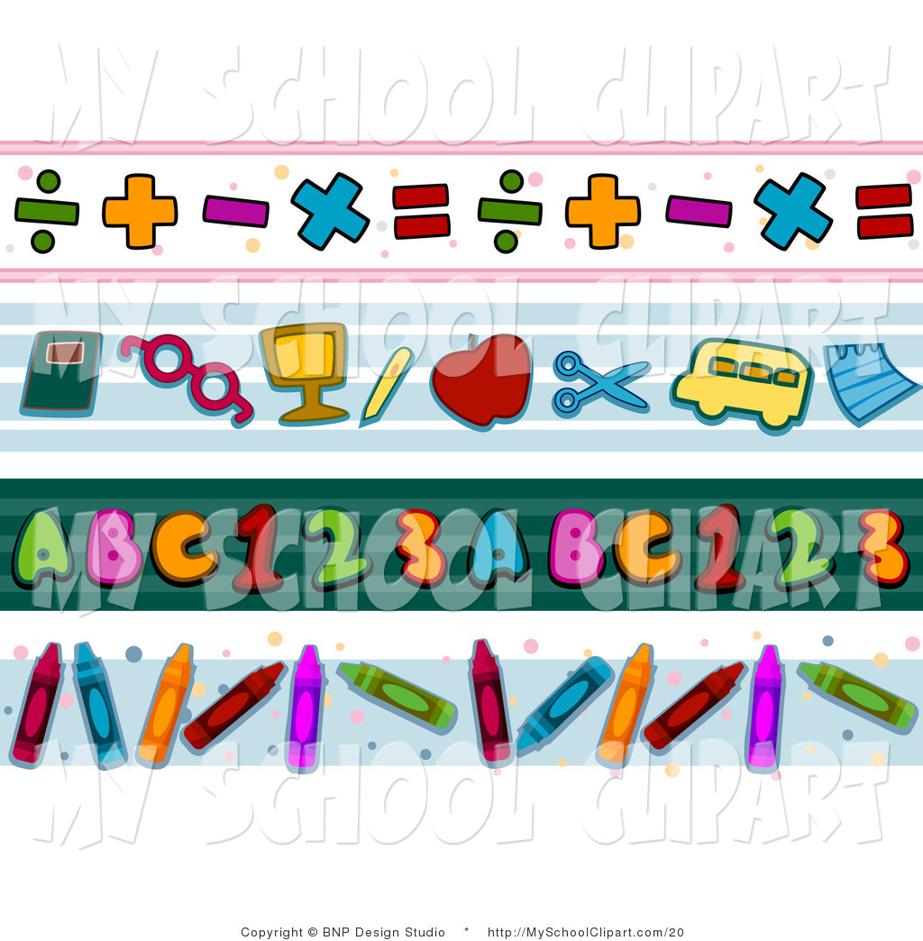 May Out Of School Border Clipart.