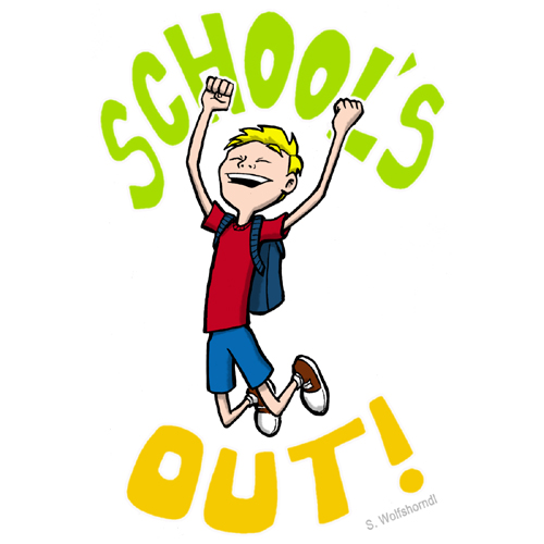Out Of School Clipart.