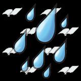 Rain drops live clipart.