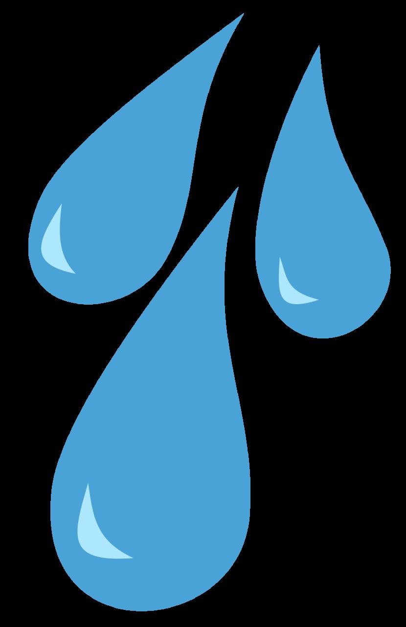Rain drop clipart.
