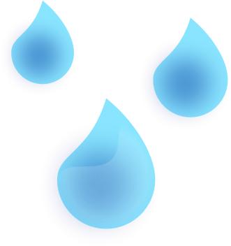 Rain Drops Clipart.