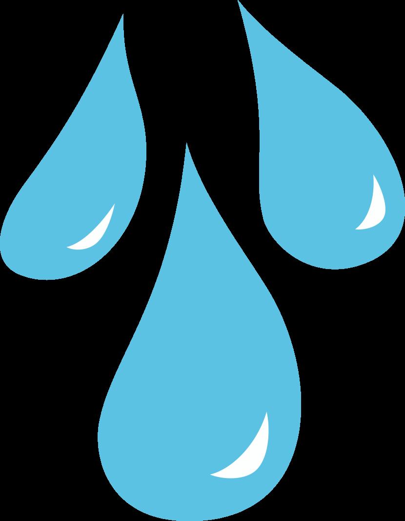 Rain Drop Clip Art.