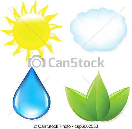 Drop of water natur clipart #9