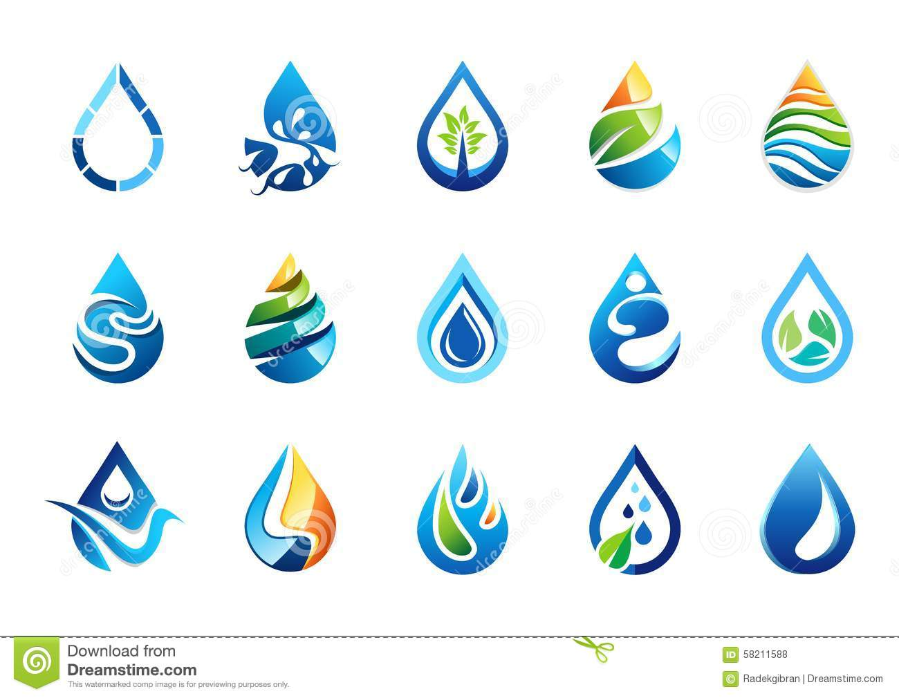 Water nature clipart.
