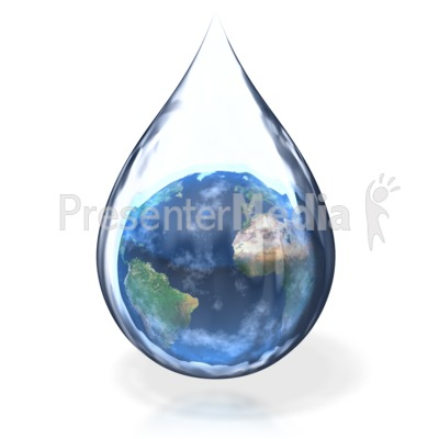 Earth Water Drop.