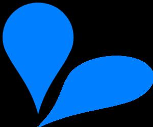 Blue Drop Pin Clip Art at Clker.com.