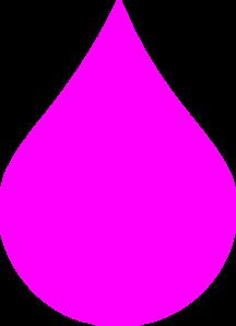 Pink Drop Clip Art at Clker.com.