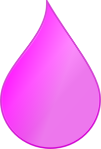 Pink water splash clipart.