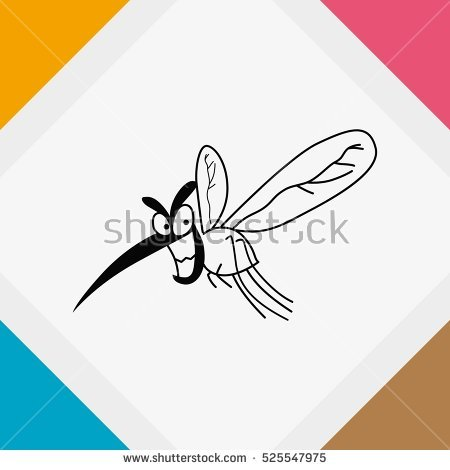 Drop pink mosquito wasp clipart #13
