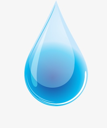 Blue Water Drop, Drop, Drops, Blue PNG and Vector with Transparent.