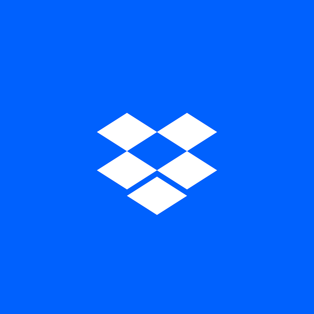 Brand New: New Logo and Identity for Dropbox by Collins and.