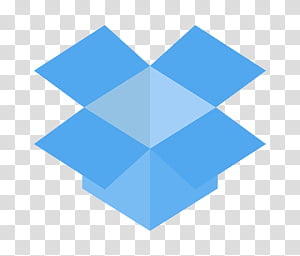 Dropbox transparent background PNG cliparts free download.